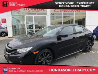Used 2017 Honda Civic Hatchback Sport for sale in Sorel-Tracy, QC
