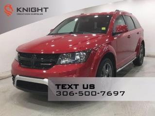 Used 2017 Dodge Journey Crossroad AWD | Leather | Navigation | DVD | for sale in Regina, SK