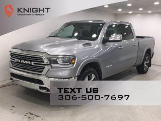 Used 2019 RAM 1500 Laramie Crew Cab | Leather | Sunroof | Navigation | for sale in Regina, SK