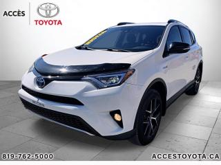 Used 2018 Toyota RAV4 Hybrid AWD SE HYBRID for sale in Rouyn-Noranda, QC
