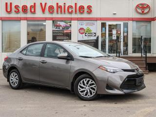 Used 2017 Toyota Corolla LE | BACK-UP CAMERA | HEATED SEATS | SINGLE OWNER for sale in North York, ON