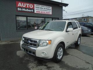Used 2009 Ford Escape Hybrid LIMITED ** 1 SEUL PROPRIÉTAIRE ** for sale in St-Hubert, QC