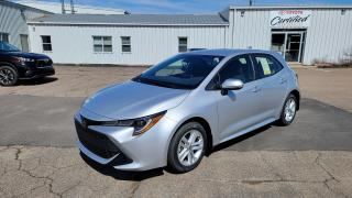 New 2020 Toyota Corolla Hatchback 6MT SE for sale in Port Hawkesbury, NS