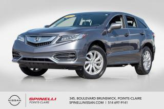 Used 2017 Acura RDX Tech Pkg NAVIGATION / TOIT OUVRANT/ BLUETOOTH / CAMERA DE RECUL for sale in Montréal, QC