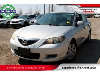Used 2007 Mazda MAZDA3 4dr Sdn Auto GS for sale in Whitby, ON