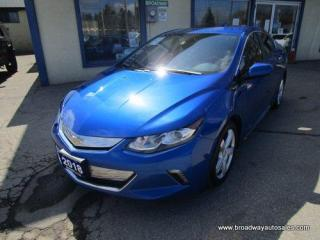 Used 2018 Chevrolet Volt LOADED LT EDITION 5 PASSENGER 1.5L - HYBRID ENGINE.. LEATHER.. HEATED SEATS.. BACK-UP CAMERA.. BLUETOOTH SYSTEM.. BOSE AUDIO.. DRIVE-MODE-SELECT.. for sale in Bradford, ON