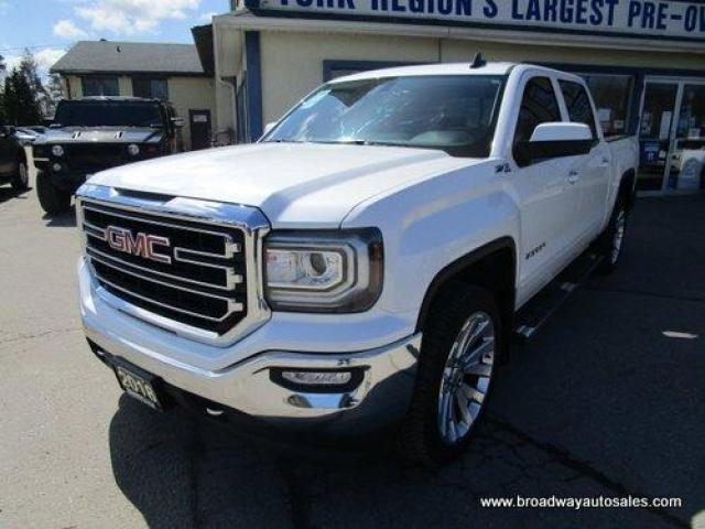 2018 GMC Sierra 1500 LIKE NEW SLE-Z71 MODEL 5 PASSENGER 5.3L - V8.. 4X4.. CREW-CAB.. SHORTY.. NAVIGATION.. BACK-UP CAMERA.. BLUETOOTH SYSTEM.. POWER PEDALS..