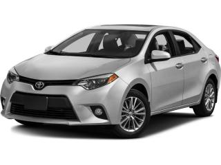 Used 2014 Toyota Corolla BLUETOOTH | REARVIEW CAMERA | POWER SUNROOF for sale in Cambridge, ON