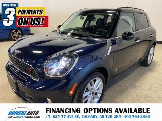 Used 2014 MINI Cooper Countryman Cooper S AWD, DUAL SUNROOF, AND MORE!! for sale in Calgary, AB
