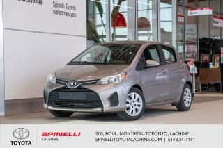 Used 2015 Toyota Yaris LE KILOMETRES BAS! SPINELLI CERTIFIER! for sale in Lachine, QC