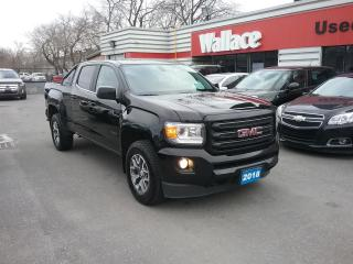 Used 2018 GMC Canyon Crew Cab 4WD ALL- TERRAIN for sale in Ottawa, ON