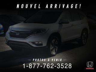 Used 2016 Honda CR-V TOURING + AWD + CUIR + TOIT + MAGS + WOW for sale in St-Basile-le-Grand, QC