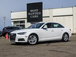 Used 2017 Audi A4 AWD|KOMFORT|BROWN LEATHER|REAR SENORS|LOW KMS!!! for sale in Kitchener, ON