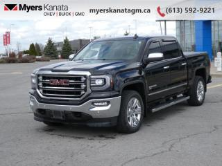 Used 2018 GMC Sierra 1500 SLT  - Leather Seats -  Heated Seats for sale in Kanata, ON