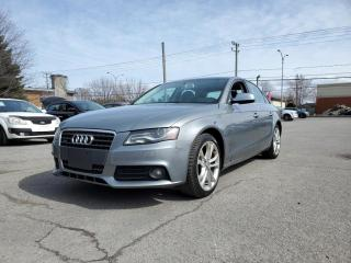 Used 2010 Audi A4 Quattro 2.0T Premium *TOIT*BT*BANG & OLUFSEN* for sale in St-Jérôme, QC