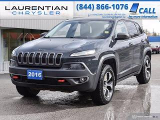 Used 2016 Jeep Cherokee Trailhawk!!  AWD!!  BACKUP CAM!!  LEATHER!! for sale in Sudbury, ON