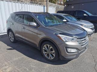Used 2014 Hyundai Santa Fe Sport 2.0T Limited CLEAN CARFAX | LEATHER VENTILATED SEATS | NAVI | PANO MOONROOF for sale in Huntsville, ON