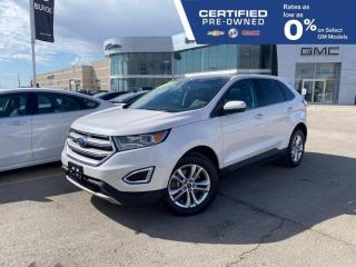 Used 2017 Ford Edge SEL | Heated Seats | Bluetooth | for sale in Winnipeg, MB