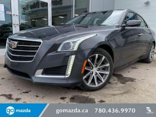 Used 2016 Cadillac CTS Sedan Luxury Collection AWD for sale in Edmonton, AB