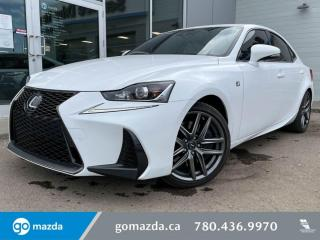 Used 2017 Lexus IS 350 for sale in Edmonton, AB