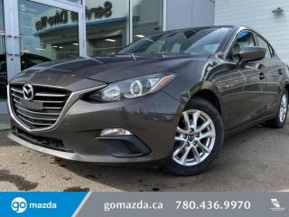 Used 2015 Mazda MAZDA3 GS - AUTO, BLUETOOTH, HEATED SEATS, BACK UP CAM AND MORE! for sale in Edmonton, AB