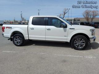 Used 2017 Ford F-150 Lariat  -  Bluetooth for sale in Selkirk, MB