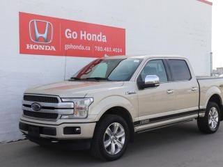 Used 2018 Ford F-150 Platinum, LOADED, NO ACCIDENTS, POWER SIDE STEPS for sale in Edmonton, AB