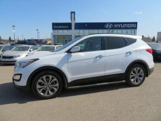 Used 2016 Hyundai Santa Fe Sport LIMITED/2.0T/NAV/PANO ROOF/LEATHER for sale in Edmonton, AB