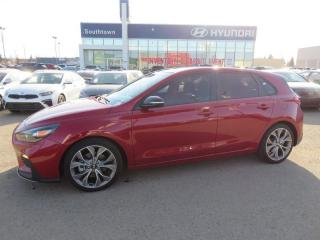 Used 2019 Hyundai Elantra GT ULTIMATE/N-LINE/TURBO/NAV/PANO ROOF/LEATHER for sale in Edmonton, AB