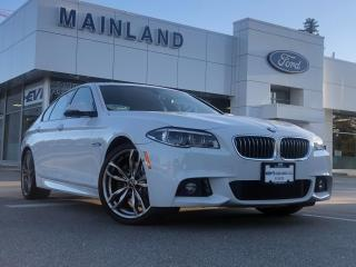 Used 2016 BMW 535 i xDrive LOCAL BC, M SPORT PKG, NAV, MOONROOF, HUD DISPLAY, PWR TAILGATE, LOADED for sale in Surrey, BC