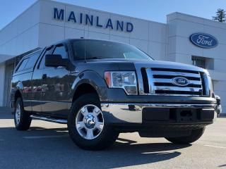 Used 2010 Ford F-150 XLT LOCAL BC 1 OWNER, 4.6L V8, CANOPY, BEDLINER, TRAILER TOW PKG, SYNC, MINT for sale in Surrey, BC
