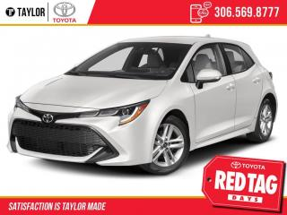 New 2021 Toyota Corolla Hatchback for sale in Regina, SK