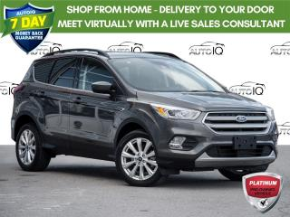 Used 2019 Ford Escape SEL 4 Wheel Drive  |  Panoramic Sunroof  |  Ford Smart and Safe Package for sale in St Catharines, ON