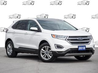 Used 2018 Ford Edge SEL Leather  |  Panoramic Sunroof  |  Navigation for sale in St Catharines, ON