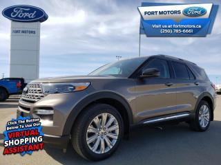 New 2021 Ford Explorer Limited Hybrid  - Leather Seats - $386 B/W for sale in Fort St John, BC