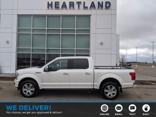 Used 2019 Ford F-150 Platinum HEATED & COOLED SEATS | REMOTE START | BACK UP CAMERA | NAVIGATION | PANORAMIC SUNROOF-USED EDMONTON for sale in Fort Saskatchewan, AB