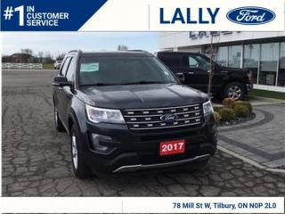 Used 2017 Ford Explorer XLT, Leather, Nav, 4x4! for sale in Tilbury, ON