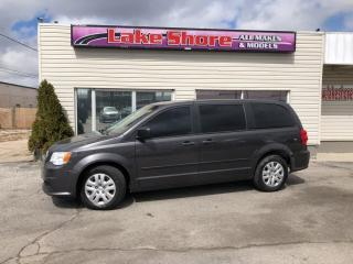 Used 2015 Dodge Grand Caravan SE/SXT Canada Value Package LOCAL TRADE for sale in Tilbury, ON