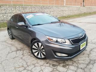 Used 2013 Kia Optima SX,NAVIGATION,REARVIEW CAM,LEATHER,PANORAMIC ROOF, for sale in Mississauga, ON