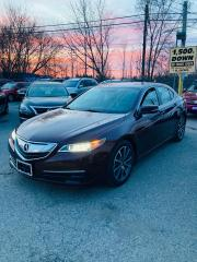 Used 2015 Acura TLX PREMIUM IMPORT LUXURY SEDAN i-VTEC V6 SH-AWD for sale in Toronto, ON