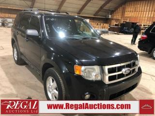 Used 2011 Ford Escape XLT V6 4D Utility 4WD for sale in Calgary, AB