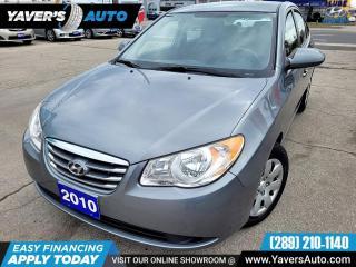 Used 2010 Hyundai Elantra GLS for sale in Hamilton, ON