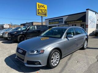 Used 2011 Audi A4 2.0T NO ACCIDENTS, RARE AVANT, QUATTRO AWD! for sale in Etobicoke, ON