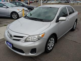 Used 2012 Toyota Corolla ***Drives Like New/Excellent Condition/Low kms*** for sale in Hamilton, ON