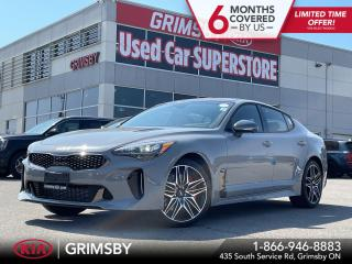 New 2022 Kia Stinger GT ELITE|HEADS UP DISPLAY|360 CAMERA|NAPPA LEATHER for sale in Grimsby, ON
