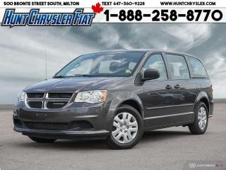 Used 2016 Dodge Grand Caravan CVP | 7 PASS | LOCAL LEASE RETURN | HURRY IN TODAY for sale in Milton, ON
