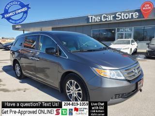 Used 2011 Honda Odyssey EX w-RES Heatd Seats Rear Cam Remote Start DVD ! for sale in Winnipeg, MB