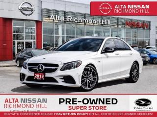 Used 2019 Mercedes-Benz C-Class Prem PKG   AMG PKG   Burm Spkrs   Tech PKG for sale in Richmond Hill, ON