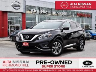 Used 2018 Nissan Murano SL   360CAM   Lether   BSW   Pano   PWR Liftgate for sale in Richmond Hill, ON