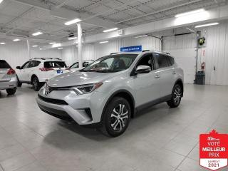 Used 2016 Toyota RAV4 LE - CAMERA + S. CHAUFFANTS + JAMAIS ACCIDENTE !!! for sale in Saint-Eustache, QC